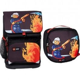 Plecak mały z workiem na obuwie LEGO City Fire