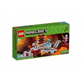LEGO 21130 MINECRAFT Linia kolejowa w Netherze