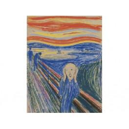 Zestaw do malowania z farbami, Edvard Munch. Krzyk