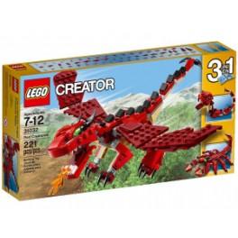 LEGO CREATOR 31032 Czerwone kreatury