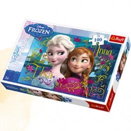Puzzle Anna i Elsa