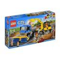 LEGO UNIKAT 60152 CITY Zamiatacz ulic i koparka