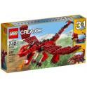 LEGO UNIKAT  CREATOR 31032 Czerwone kreatury